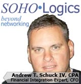 Picture of Andrew Schuck, the CFO of SOHOLogics, Inc.