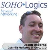 Picture of Jason Osborne, the CIO of SOHOLogics, Inc.