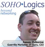 Picture of Jason Osborne, the CIO of SOHOLogics, Inc.
